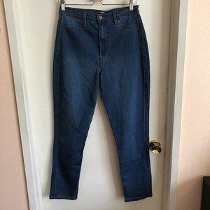 Fashion Nova Medium Blue Wash Skinny Hi Rise Jeans